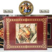 MICHELANGELO - Easton Press - Trewin Copplestone - OVERSIZED BOOK SEALED