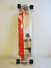 """41"""" Long Board Professional Complete Skateboard 9-Ply Maple Wood Bended"""