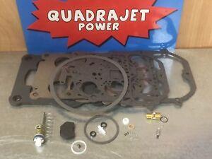 Premium Quality Quadrajet Rebuild Kit.1979-1986 Chevy, Buick, GMC, Pontiac