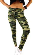 Markenlose Damen-Leggings mit Camouflage M