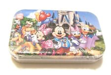 Mickey Mouse and Friends 60 Piece Wooden Puzzle Jigsaw in Fancy Metal Tin