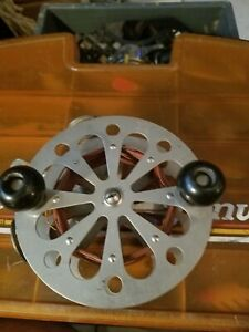 Vintage Pflueger Taxie Model 3128 Trolling Reel  with Copper Braided Line