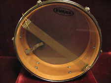 1960 VTG Beauty Zim-Gar Blue Sparkle 3-Point Strainer+Die-Cast Hoops Snare Drum!