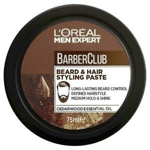 L'Oreal Men Expert Barber Club Beard and Hair Styling Paste 75ml