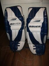 Bauer Hockey Goalie Leg Pads for sale | eBay