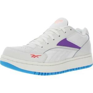 Reebok Womens Court Double Mix White Tennis Shoes 9.5 Medium (B,M) BHFO 2013