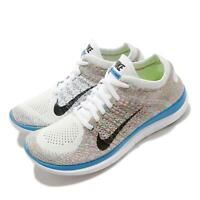 Nike Wmns Free Flyknit 4.0 Multi-Color Rainbow Run Women Shoe Sneaker 631050-104