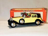 RAMI by JMK n°10 HISPANO-SUIZA 1934 Coupé J12 en métal - boite origine éch.1/43