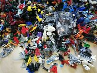 LEGO - 1KG HERO FACTORY BUILDABLE ACTION FIGURES BIONICLES PACK(S) - BULK MIX