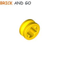 15 x LEGO 32123 Connecteur Bague Axe (jaune yellow) Cross Axle Bush 1/2 NEUF NEW