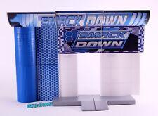 "WWE Jakks Build n Brawl Smackdown Entrance Ramp Wrestling Figure 3.75"" Mini_BN6"