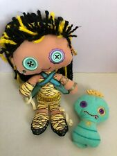 Monster High Cleo de Nile soft doll with pet