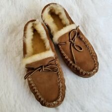 LL Bean wicked good moccasins Men Sz 9 Slippers