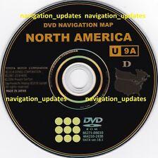 Latest Toyota 2019 Navigation Map Update DVD Gen 6 18.1 U9A 86271-GEN06-18