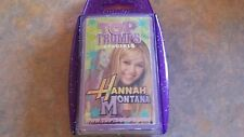 Hannah Montana Special Top Trumps V/Good Cond Complete Miley Cyrus
