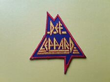 POP, ROCK, PUNK, METAL MUSIC SEW ON & IRON ON PATCH:- DEF LEPPARD