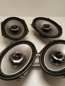 Pioneer Auto Speakers Model: TS-G6841R Custom Fit For Ford/Mazda Set of 4