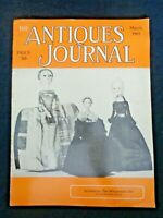 Antiques Journal 1965 Scrimshaw Whale Carvings Parasols Shelburne Museum VT Doll