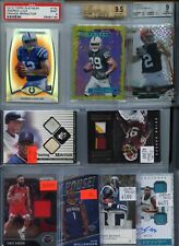 HUGE PREMIUM PATCH AUTO JERSEY ROOKIE GRADED INSERT SPORTS CARD COLLECTION LOT