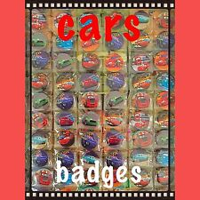 Disney Cars, Cars 3 Birthday Party Badges Set Of 10.  Cars Party Bag Fillers