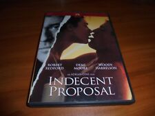 Indecent Proposal (DVD, Widescreen 2002) Robert Redford,Woody Harrelson Used