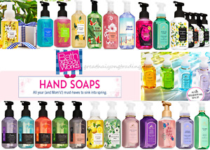 Bath & Body Works Hand Soap Gentle Foaming/Creamy Luxe/Aromatherapy Buy 2+ Save