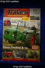 Oldtimer Traktor 9-10/12 Deutz D 5505 Tandem Brummer Traktoren Allis Chalmers