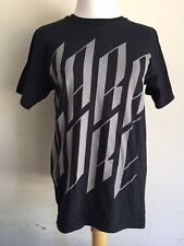 PARAMORE (2012) Hayley Williams Band Black Logo Concert Tour T-Shirt Size Small