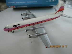 Hobby Master 1/200: PSA Pacific Southwest Airlines L-188 N6130A  HL1011