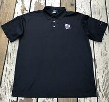 NIKE GOLF • SAMUEL ADAMS BOSTON BREWERY • Men's DRI FIT Polo Golf Shirt XL