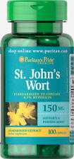 Puritan's Pride St. John's Wort 150 mg - 100 Capsules (free shipping)