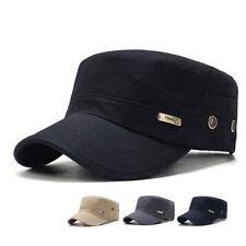 Army Plain Hat Classic Cadet Field Military Cap Style Patrol Baseball Fashion