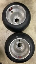Go Kart Racing Aluminum Wheels And Burris B55 Tires