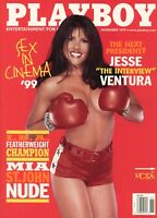 PLAYBOY NOVEMBER 1999 Mia St. John Kara Wakelin Jesse Ventura WWF Maria Carey