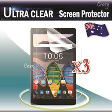"""3x Ultra Clear Screen Protector Film For Lenovo Tab 3 7.0"""" inch Essential"""