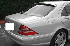 FITS MERCEDES S-CLASS 2000-2006 REAR WINDOW ROOF SPOILER PAINTED (P)