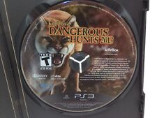 Cabela's Dangerous Hunts 2013 (Sony PlayStation 3, 2012) DISC ONLY