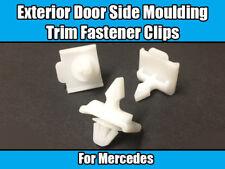 Clip 10x per MERCEDES 109 W201 e Class W124 lato esterno porta Stampaggio Trim