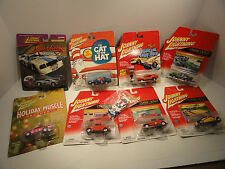 Johnny Lightning Die Cast Metal Cars Lot of Eight
