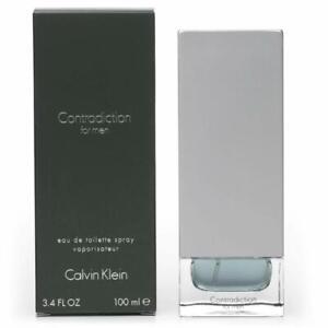 Contradiction by Calvin Klein Eau de Toilette 100ml, New,RRP£49.99