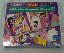 """All Occasion Scrapbook Memory Kit by Remember When 12"""" x 12"""" Scrapbooking Crafts"""