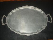 Antique Ktin Pewter Platter/Tray