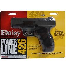 Daisy Power Line 426 CO2 BB Air Pistol .177Cal Gun Semi-Automatic Black Outdoor