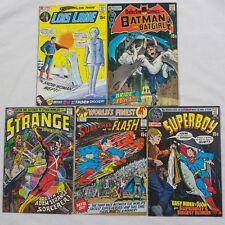 MIXED LOT OF DC COMICS - BRONZE & SILVER AGE - BATMAN, STRANGE, SUPERMAN & MORE!