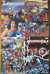 JLA / Avengers #1-4 TPB SC 2001 Graphic Novel Full Set VF/NM
