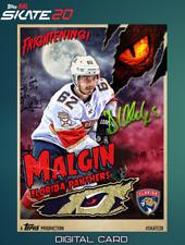 19-20 HALLOWEEN MONSTER SIGNATURE RELIC DENIS MALGIN Topps NHL Skate Digital