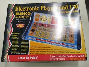 Elenco EP-130 130 in 1 Electronic Playground and Learning Center