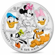 Mickey et ses Amis - 50 euros FRANCE 2018 colorisée 5oz argent - Belle Epreuve