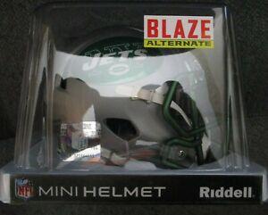 New York Jets Riddell Blaze Mini Helmet New In Box