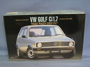 Fujimi 1038 Volkswagen Golf Ci1.7 Model Car Kit, 1/24 Scale, SEALED PARTS BAGS